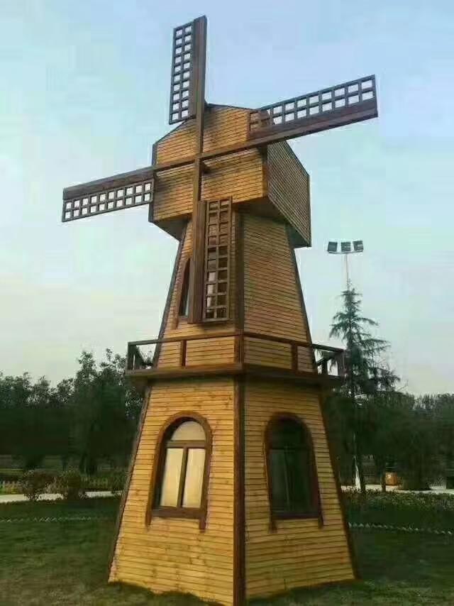 劲爆体育nba直播视频碳化木景观风车