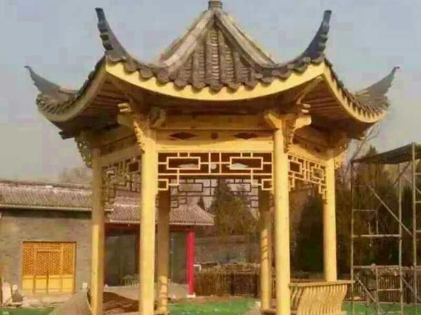木质古建凉亭